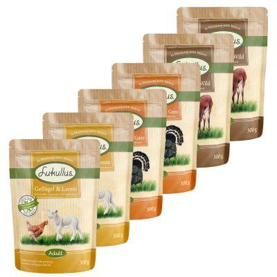 Voordeelpakket Lukullus Maaltijdzakjes 48 x 300 g Hondenvoer