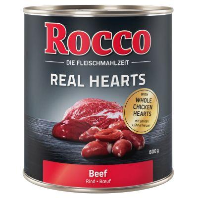 Voordeelpakket: Rocco Real Hearts 24 x 800 g