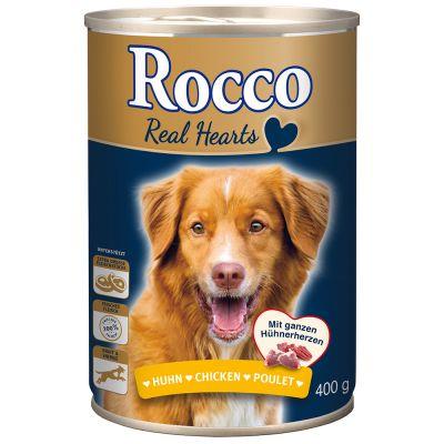 Voordeelpakket: Rocco Real Hearts 24 x 400 g