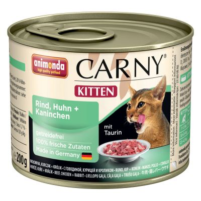 Welcome Kit Kitten Animonda Carny Kitten 12 x 200 g