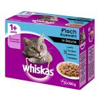 Whiskas 1+ 12 x 100 g pour chat