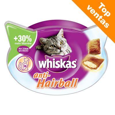 Whiskas Anti-Hairball snacks para las bolas de pelo