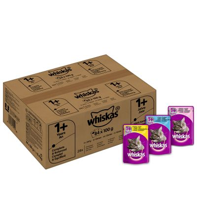 Whiskas 1+/7+ buste 84 x 100 g