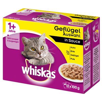 Whiskas 1+ buste 48 x 100 g