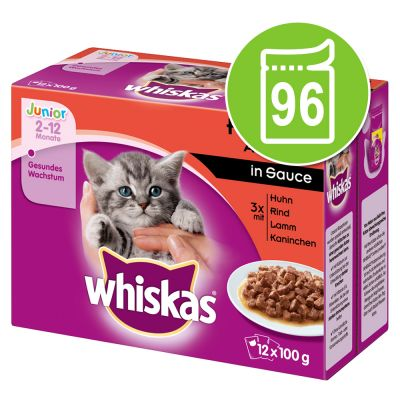 Whiskas Junior buste 96 x 100 g