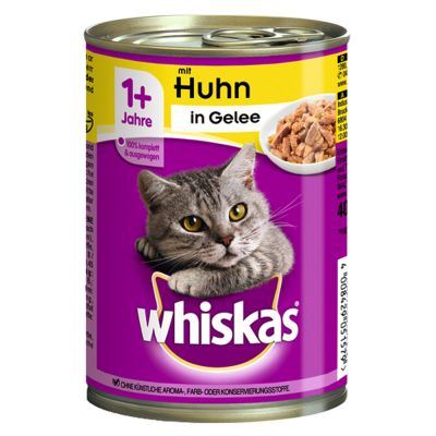 Whiskas 1+ lattine 24 x 400 g