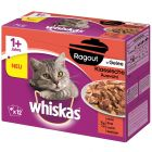 Whiskas 1+ Marmiton 12 x 85 g pour chat