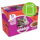 Whiskas 1+ Meat Selection in Gravy