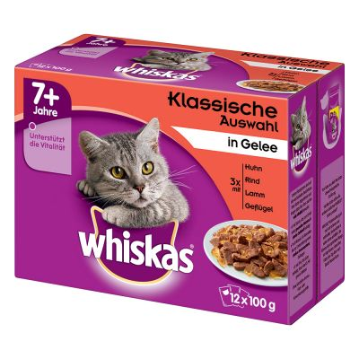 Whiskas 7 Senior Pouches In Jelly At A Great Price At Bitiba