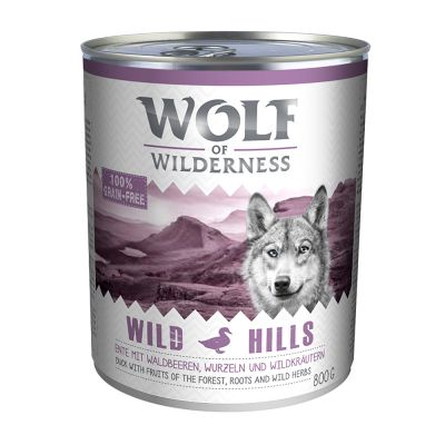 Wolf of Wilderness Adult Saver Pack 12 x 800g