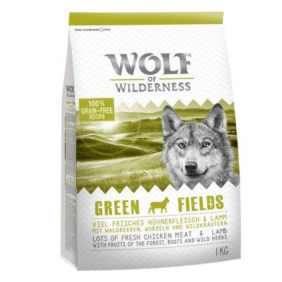 Wolf of Wilderness Green Fields, agneau pour chien