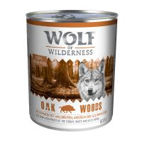 Wolf of Wilderness Hondenvoer 6 x 800 g