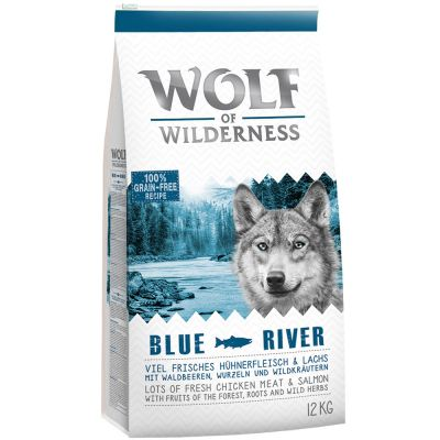 Wolf of Wilderness: 12 kg Trockenfutter + Nassfutter