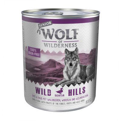 Wolf of Wilderness Senior 6 x 800 g