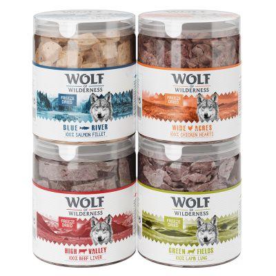 Wolf of Wilderness snacks liofilizados premium - Pack de prueba mixto
