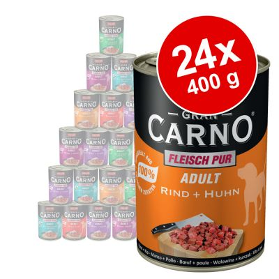 24 x 400 g Animonda GranCarno Adult