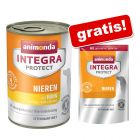 6 x 400 g Animonda Integra + 700 g Animonda Integra gratis!
