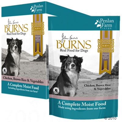 24 x 400g Burns Wet Dog Food + Chuckit! Tennis Balls Free!*