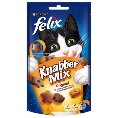 3 x 60 g Felix KnabberMix zum Sonderpreis!