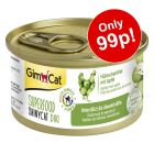 2 x 70g GimCat Superfood ShinyCat Duo - Special Price!*