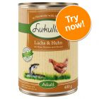 6 x 400g Lukullus Classic Wet Dog Food - Try Now!*