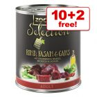 12 x 800g zooplus Selection - 10 + 2 Free!*