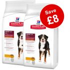 2 x 12kg Hill's Science Plan Dry Dog Food - £8 Off!*