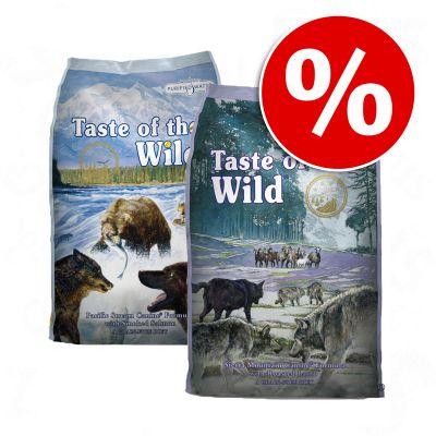 2 x 13 kg: Taste of the Wild - Combipakket