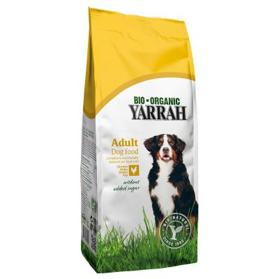 Yarrah Bio Ecologische Brokken met Kip & Graan Hondenvoer