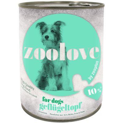 zoolove Cibo umido per cani 24 x 800 g