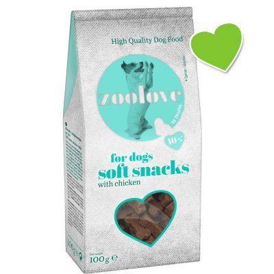 zoolove Soft-Snacks für Hunde 100 g (semi-moist)