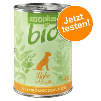 zooplus Bio Probierpaket 6 x 400 g zum Sonderpreis